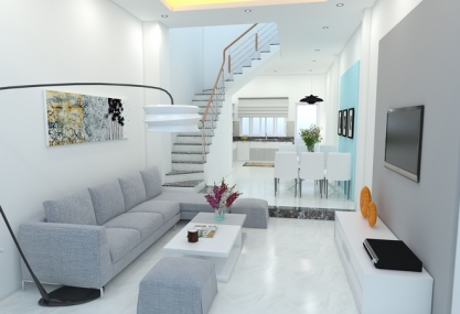 3-storey, 55m2 house interior design in Cau Giay, Hanoi