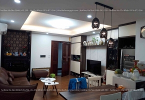 Interior construction of UDIC apartment building - Ms. Huyen