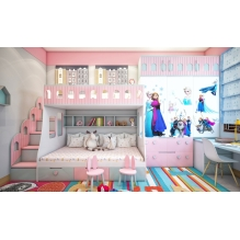 Girl's bedroom design, Ms Hau, Binh Dinh