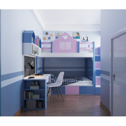 The children's bedroom design, Ms Thuy, HCMC